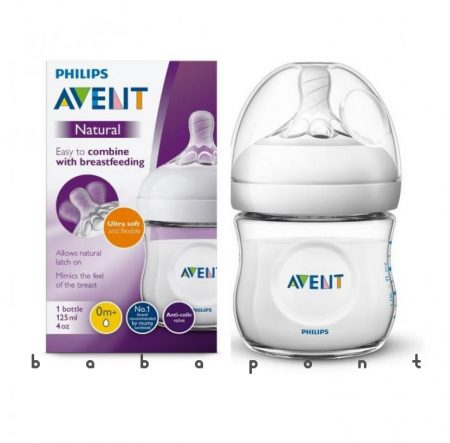 Cumisüveg AVENT NATURAL 125ml