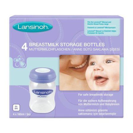 Lansinoh anyatejtároló palackok 4db