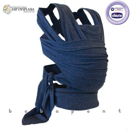 Hordozókendő csatos CHICCO BOPPY ComfyFit Blue 7994980