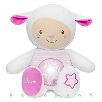 zene-fény altató bárányka CHICCO First Dream Pink 90901