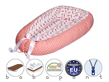babafészek, kókuszbetétes átfordítható SCAMP 004