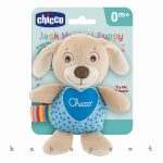 Zenélő plüss kutyus, babajáték Chicco JACK 97190