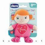 zenélő plüss baba, babajáték Chicco CHARLOTTE 97180