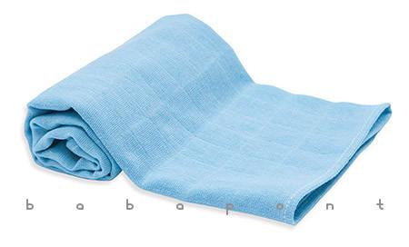 textilpelenka egyszínű Scamp kék