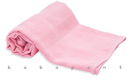 textilpelenka egyszínű Scamp rózsaszín