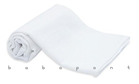 Textilpelenka egyszínű Scamp fehér