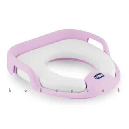 Párnázott wc szűkítő ülőke CHICCO pink 65720