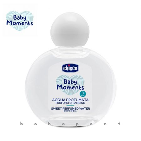 CHICCO Baby Moments illatos víz-babaparfüm babapúder illat 100ml 28020