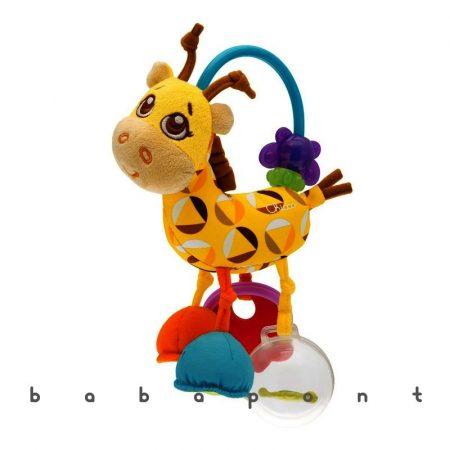 Csörgős rágóka Chicco Mrs. Giraffe 7157