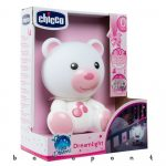 Dreamlight macis lámpa, éjjeli fény Chicco Pink 98301