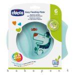 Csúszásmentes tányér Chicco Easy Feeding Blue 1600120