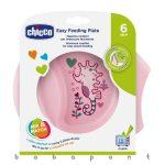 Csúszásmentes tányér Chicco Easy Feeding Pink 1600110