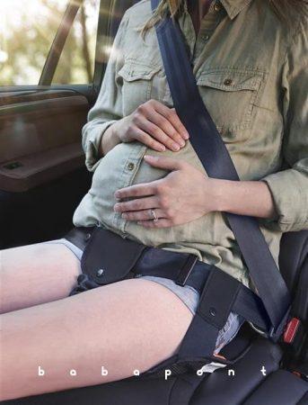 Biztonsági övterelő kismamáknak APRAMO
