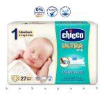 Újszülött pelenka Ultra Soft Newborn CHICCO 2-5kg 0083800