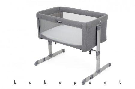Ágy mellé tolható babaöböl JOIE ROOMIE Grey Flannel 217045