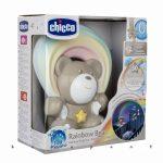 Rainbow Bear CHICCO 2in1 zene és projektor Neutral ch0104740