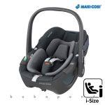 Maxi-Cosi PEBBLE 360 i-Size babahordozó, gyerekülés 40-83 cm ESSENTIAL GRAPHITE mc8044750110