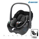 Maxi-Cosi PEBBLE 360 i-Size babahordozó, gyerekülés 40-83 cm ESSENTIAL BLACK mc8044672110