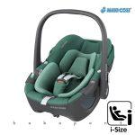 Maxi-Cosi PEBBLE 360 i-Size babahordozó, gyerekülés 40-83 cm ESSENTIAL GREEN mc8044047300